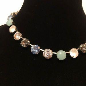 "🧚♀️HP🧚♀️Handmade .5"" Rd Brilliant Cut Necklace"
